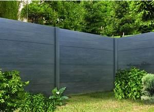Cloture Beton Imitation Bois : cl ture d corative en b ton imitation bois lasurer ~ Dailycaller-alerts.com Idées de Décoration