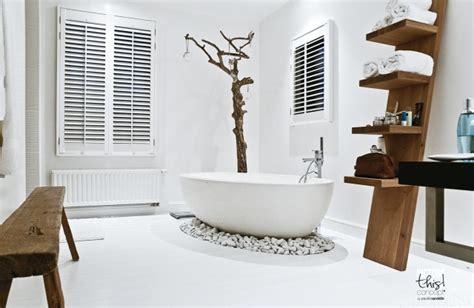 badezimmer gestalten  ideen mit skandinavischem charme