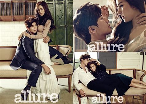 song jae rim dan kim so eun super mesra di pemotretan allure
