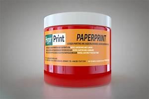 Transferdruck Selber Machen : paperprint siebdruckfarbe f r papier rot ~ A.2002-acura-tl-radio.info Haus und Dekorationen