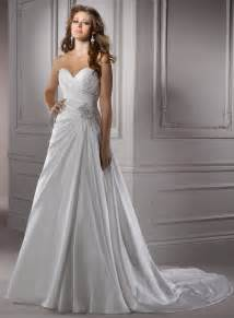 sweetheart wedding dresses satin sweetheart wedding dress sangmaestro