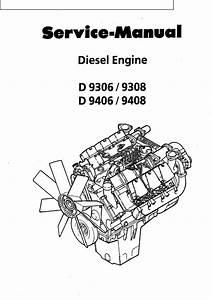 Liebherr Diesel Engine D9306 D9308 D9406 D9408 Service Repair