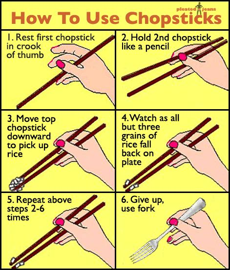 how to hold chopsticks this helps so much o o funny