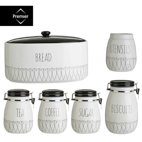 kitchen tea coffee sugar canisters heartlines tea coffee sugar canister bread bin biscuit