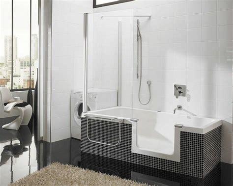 badewanne mit duschabtrennung badewanne im bad mit duschabtrennung badezimmer
