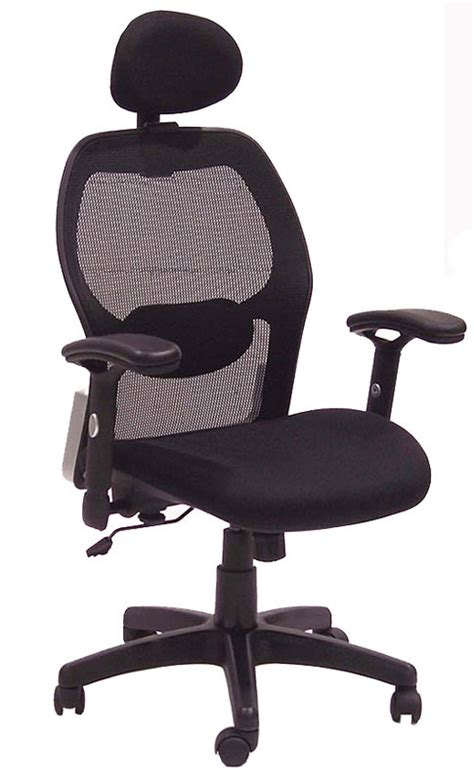 mesh office chair with headrest free shipping in stock