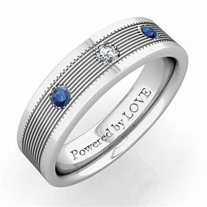 pin by danielle nicora on boxergirl1027 pinterest With mens wedding ring sapphire