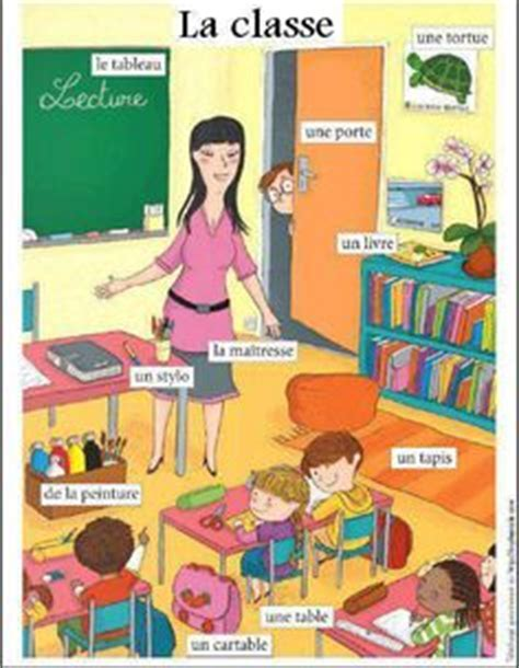 dans la salle de classe vocabulaire franc 233 s ed inf on fle grammar and vocabulary
