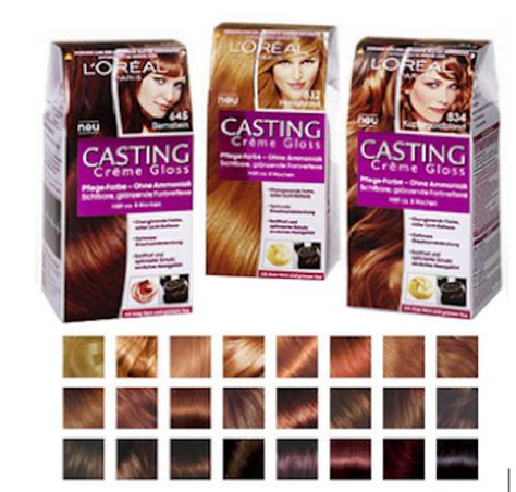 castings hair colour range hair colour loreal creme darkest brown 200 review