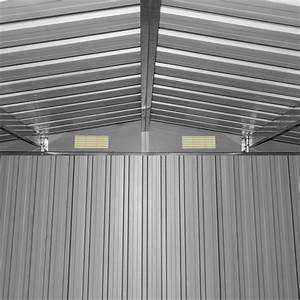 Gartenhaus Metall Anthrazit : b ware ger teschuppen ger tehaus gartenhaus gartenschuppen metall anthrazit ebay ~ Eleganceandgraceweddings.com Haus und Dekorationen