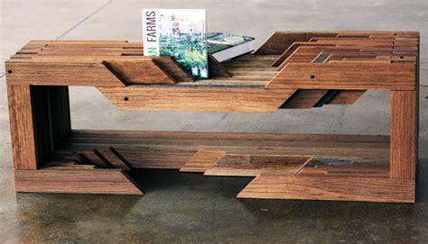 design brigade unveil table made from reclaimed coney