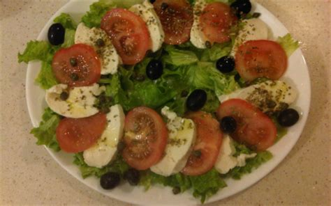 cuisiner tomates vertes recette salade tomate mozzarella 750g