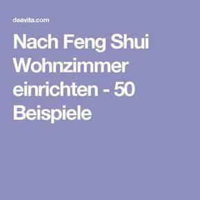 Nach Feng Shui Wohnzimmer Einrichten 50 Beispiele Feng