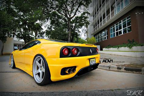 ferrari  modena custom wheels adv  track spec