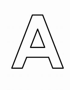 7 best images of free printable block letter alphabet for Large block letters