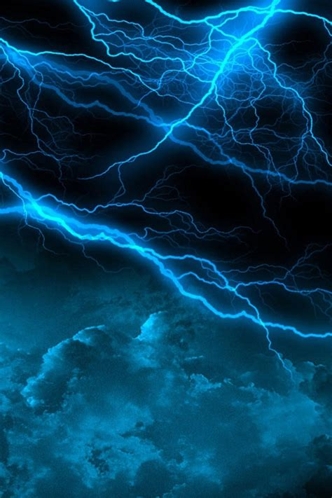 nature lightning scenery iphone 4s wallpapers free 640x960
