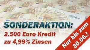 Kredit 500 Euro : sonderaktion euro kredit zu 4 99 bon ~ Kayakingforconservation.com Haus und Dekorationen