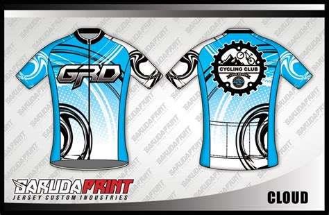 koleksi desain baju sepeda gowes road bike  garuda