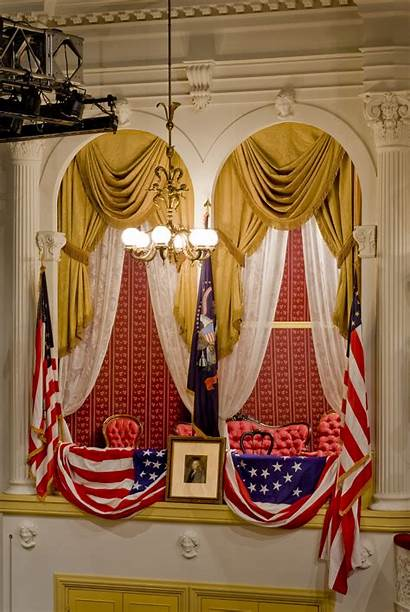 Theatre Ford Box Presidential Washington George Fords