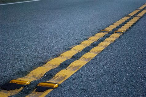 speed bumps  rumble strips damage cars  news wheel