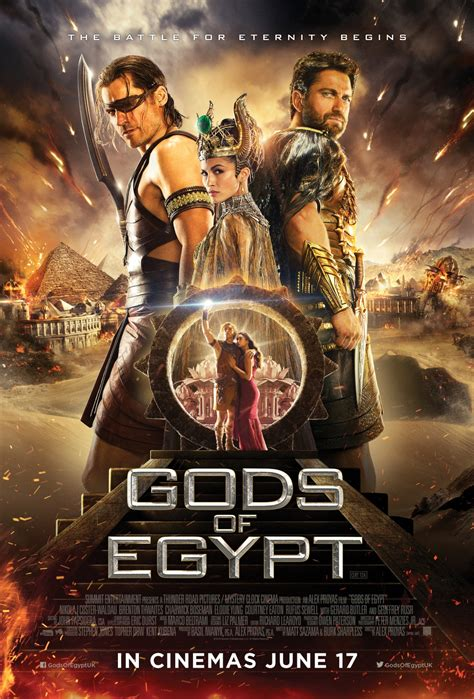 Gods of Egypt (2016) Directed by Alex Proyas | Musings ...