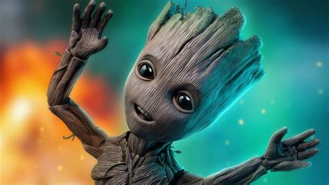 Groot PC Wallpapers - Wallpaper Cave