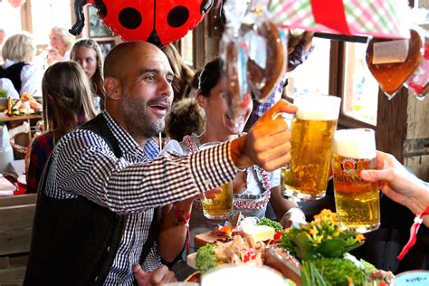 The oktoberfest is powered via 43 kilometers of cable and 18 partially underground transformer stations. FC Bayern Muenchen Attend Oktoberfest 2015 - Socrates Dergi