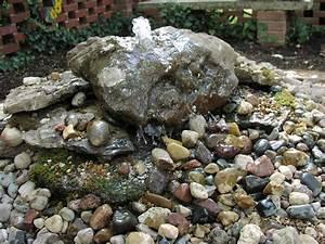 Bubbling, Rock, Fountain