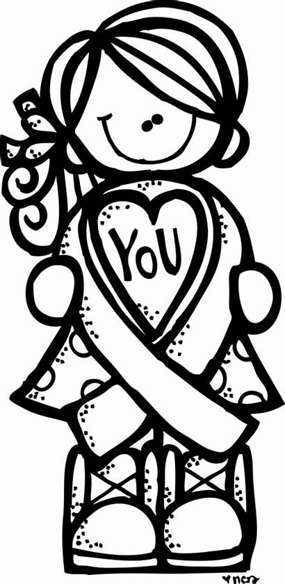 Cancer Breast Awareness Coloring Melonheadz Pages Ribbon