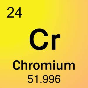 24-Chromium Element Cell - Science Notes and Projects