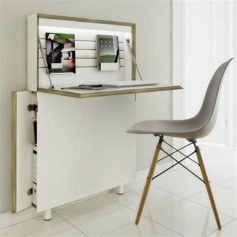 bureau rabatable petit bureau gain de place 25 modèles pour votre