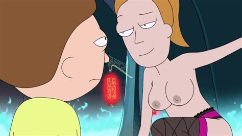 naked summer rick and morty show