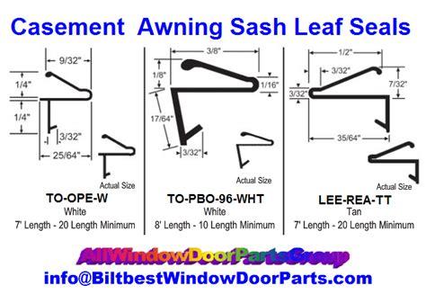 leaf style flap leaf weatherstripping doors windows biltbest window parts