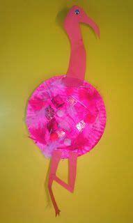 and craft ideas f is for flamingo craft crafts preschool ideas 7283