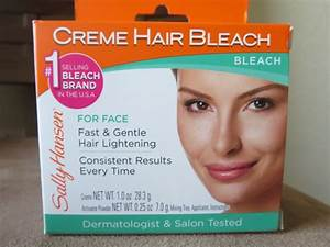 Sally Hansen Creme Hair Bleach Review