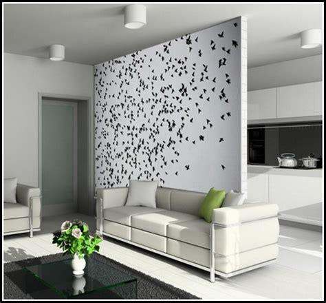Wohnzimmer Tapeten Ideen Modern  Wohnzimmer  House Und