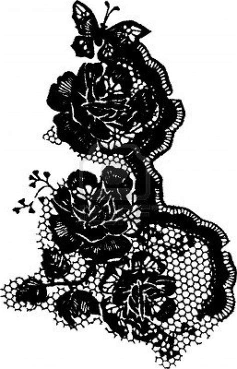 Lace tattoo in white ink   Tattoos   Pinterest   Black