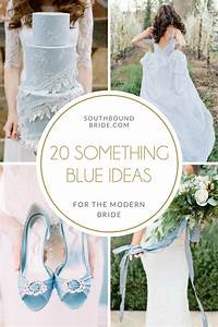 20 Something Blue Ideas for the Modern Bride | SouthBound ...