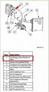 I Am Trying To Recharge The A  C Refrigerant In A 2001 Ford F250 With A V