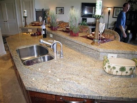 kashmir gold granite kitchen countertop  china  stonecontactcom