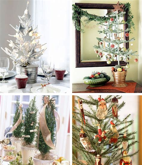 41 beautiful tabletop christmas trees digsdigs