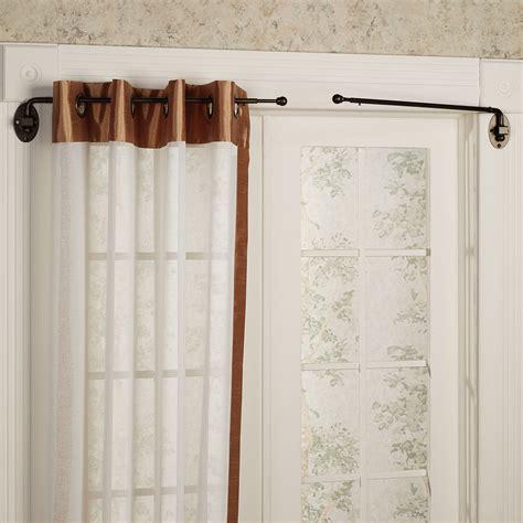 a swing arm curtain rod swing arm curtain rod furniture ideas deltaangelgroup