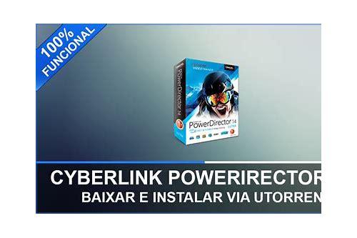 como baixar e instalar o cyberlink powerdirector