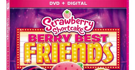 Strawberry Shortcake Berry Best Friends Dvd, Coloring