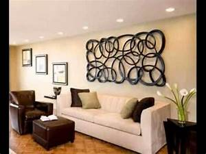 Wall Decor Living Room Along With Table Lamp Decoration