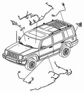 2006 Jeep Commander Wiring  Fuel Module  Tank  Skid