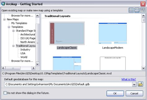 Default New Document Drive Template by Using Map Templates Help Arcgis For Desktop