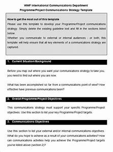 Communication strategy template beneficialholdingsinfo for Internal comms strategy template