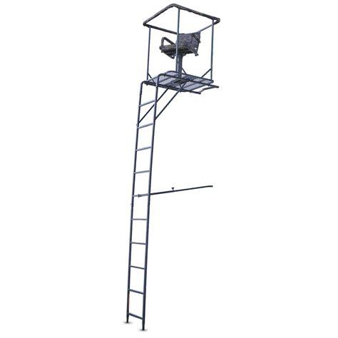 marksman 15 360 degree swivel seat ladder tree stand