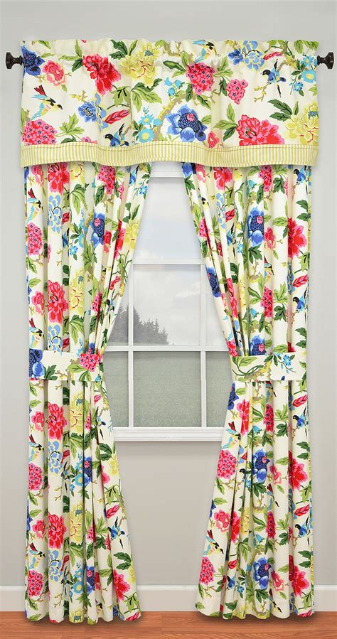 charmed lined panels ellery waverly valance